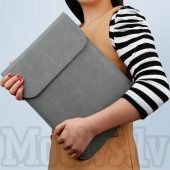 "Macbook Air Pro 13"" Magnetic Sleeve Bag Pouch for 13"" Laptops, Size: 343 x 249 mm, grey - чехол для ноутбука"
