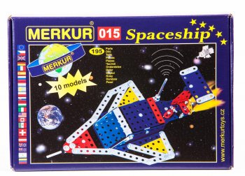 Construction Kit Spacecraft MERKUR 015 - Būvkomplekts kosmosa kuģis