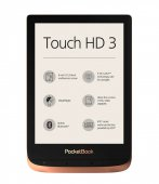Pocketbook Touch HD 3 632 Электронная Книга Е-Ридер | E-Book E-Reader, Spicy Copper