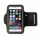 Sport Armband Slim Case for 6.0 Inches phones, (Samsung, Huawei, Iphone etc.), black - universālais sporta maks