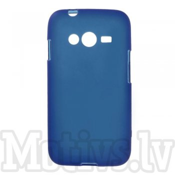 Samsung Galaxy Ace NXT SM-G313H / Ace 4 LTE G313F Frosted TPU Gel Case Bumper Cover, blue - aksesuārs vāks bamperis