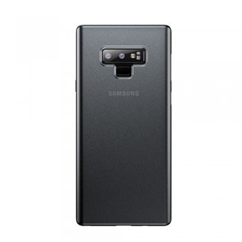 Samsung Galaxy Note 9 SM-N960F Baseus Wing Ultra Slim Thin Matte Plastic Case, transparent grey - ultra plāns telefona vāciņš