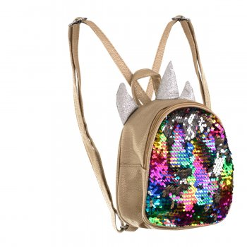 Glitter Sequin Backpack Bag Unicorn