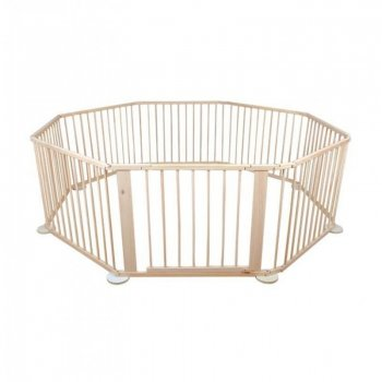 Wood Child Safety Fence Arena Enclosure (8 parts)