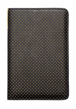 "Pocketbook 6"" Touch Lux 3 614, 615, 624, 625, 626, 631, 641 original case cover, yellow dot - sarkans vāks"