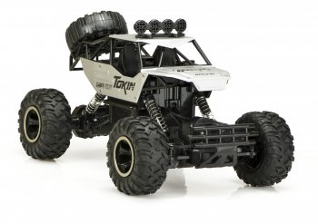 Rock Crawler Radiovadāms 4x4 auto bagijs džips 4WD 1:12 USB | RC Off-Road Car Buggy Monster Truck Vehicle