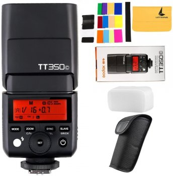 GODOX TT350C 2.4G HSS 1 / 8000s TTL GN36 Camera Speedlite for Canon Mirrorless