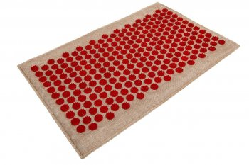 Acupressure Massage Mat Lounge (68 x 42cm, Red)
