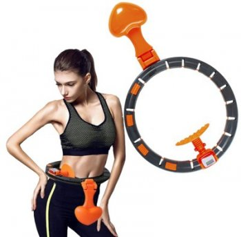 Fitness Slimming Waist Hula Hoop with Counter