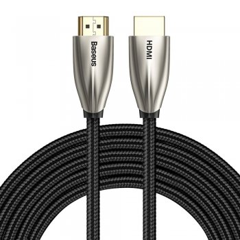 Baseus HDMI to HDMI 2.0 Video Cable 4K 60Hz 3D HDR 18Gbps, 5m, Black | Audio Video Pārraides Kabelis