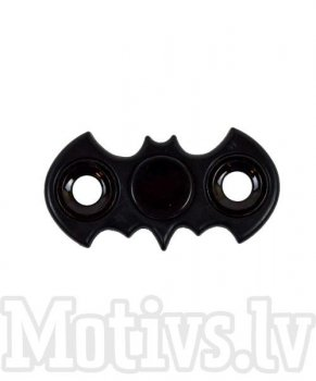 Fidget Spinner Bat Black