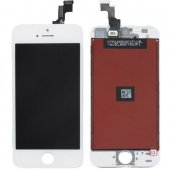 iPhone 5s screen replacement, white- iPhone 5s Ekrāns/Displejs-balts