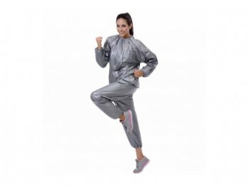 Vinyl Sauna Tracksuit Fitness Gym Weight Loss - Unisex