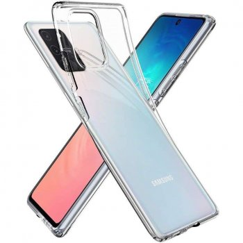 Samsung Galaxy S10 Lite (SM-G770F) Spigen Liquid Crystal TPU Case Cover, transparent - обложка бампер