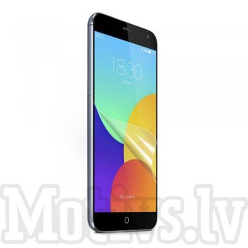 Screen Protector for Meizu MX4, transparent clear guard - ekrāna aizsargplēve, protektors