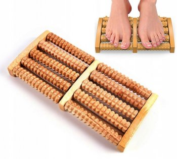 Wooden Foot Massager, 2 x 5