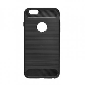 "Apple iPhone 6 6s 4.7"" Carbon, black TPU Case Cover"