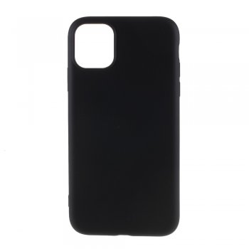Apple iPhone 11 Pro Liquid Silicone TPU Case Cover Shell, black - silikona vāciņš maciņš