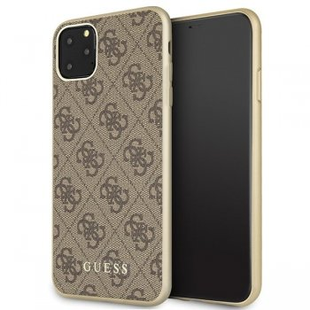 Apple IPhone 11 Pro Max Guess Brown Hard Case 4G Collection