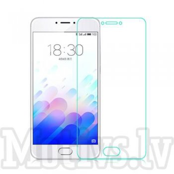 Tempered Glass Screen Protector for Meizu Meilan Note 3, 0.3mm 9H - ekrāna aizsargstikls, protektors