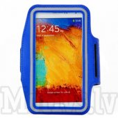 Sport Armband pouch case Size L for Samsung Note 4, S7 edge, Iphone 6 Plus, orange - universāls sporta macņš