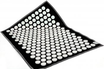 Acupressure Massage Mat Air (55 x 40cm, Black)