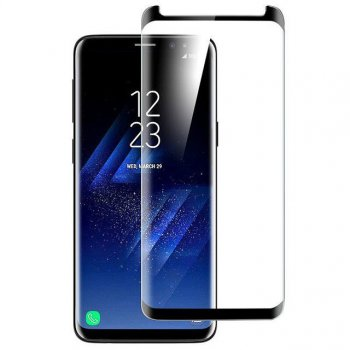 5D Tempered Glass Screen Protector for Samsung Galaxy S9+ Plus SM-G965F black