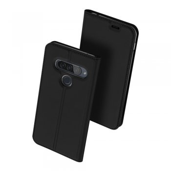 LG G8S ThinQ DUX DUCIS Magnetic Case Cover, black – vāks maks