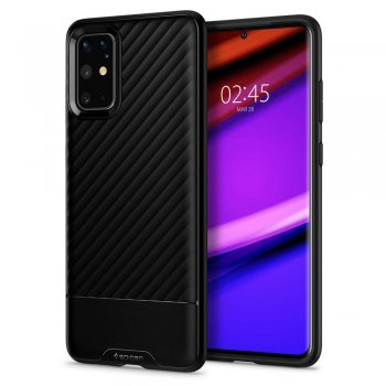 Samsung Galaxy S20+ Plus Spigen Core Armor TPU Case, black | Обложка бампер