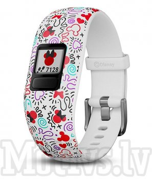 Garmin vivofit jr. 2 Minnie Mouse weiss
