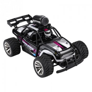 RC Tracker 2.4Ghz car with FPV HD 720p camera - radiovadāms auto
