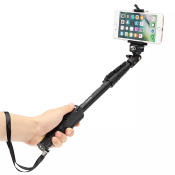Selfie Stick YT-1288 Bluetooth Remote Monopod for Gopro, Phone, Camere