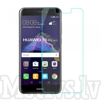 Tempered Glass Screen Protector for Huawei P9 Lite (2017) / Honor 8 Lite PRA-LX1, 0.3mm 9H - ekrāna aizsargstikls, protektors