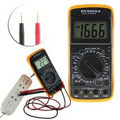 М6800 Digital Multimeter LCD AC/DC Ammeter Resistance | Digitālais multimetrs testeris