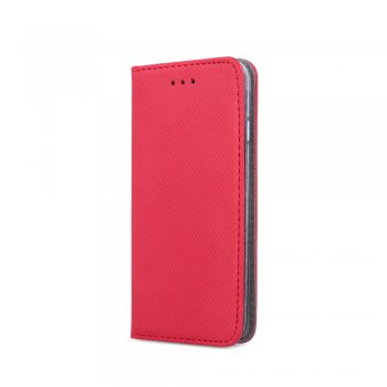Samsung Galaxy A41 (SM-A415F) Magnet TPU Book Case Cover Wallet, Red