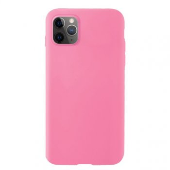 Apple iPhone 11 Pro Soft Flexible Silicone Cover Case, Pink | Telefona maciņš vāciņš