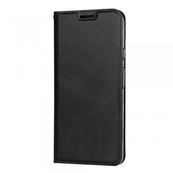 Google Pixel 4 PU Leather Stand Case Cover with Card Slot - Black | Vāciņš Maciņš