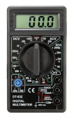 DT832 Digital Multimeter LCD AC/DC Ammeter Resistance - Digitālais multimetrs testeris