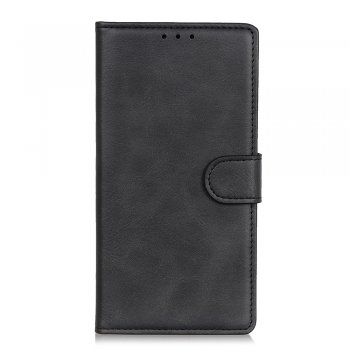Samsung Galaxy S10 Lite (SM-G770F) PU Leather Wallet Case Cover, Black | Vāciņš maciņš apvalks