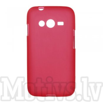 Samsung Galaxy Ace NXT SM-G313H / Ace 4 LTE G313F Frosted TPU Gel Case Bumper Cover, red - aksesuārs vāks bamperis
