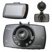 Videoreģistrators Full HD Car DVR Video Recorder - Black
