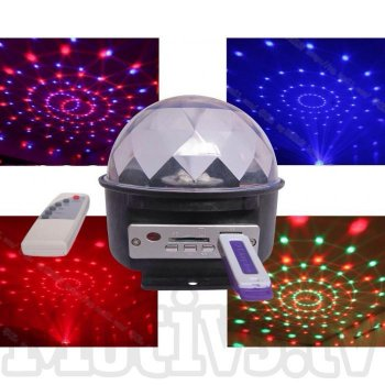Gaismas diožu disko bumba | LED Crystal Magic Ball Disco Light
