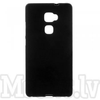 "Huawei Ascend Mate S 5.5"" Frosted TPU Gel Case Bumper Cover, black - vāks bamperis"