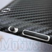 Back Cover Sticker Protector Film for Apple iPad Air 5, carbon fiber black – aizmugurējā uzlīme aizsargplēve planšetdatoram