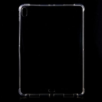 "Apple Pad Pro 11.0"" (2018) Flexible Clear TPU Tablet Case Cover, Transparent"
