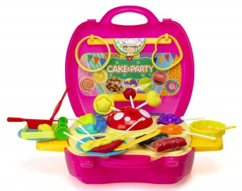 Party Candy Making Set in a Case DIY, 41 pcs