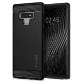 Samsung Galaxy Note 9 (N960F) Spigen Rugged Armor Cover, black | Vāks bamperis