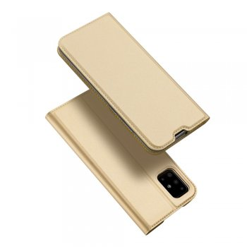 Samsung Galaxy A71 (SM-A715F) DUX DUCIS Magnetic Case Cover, Gold