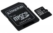 Kingston Canvas Select 16GB microSD Memory Card (Class 10 UHS-I U1 SDHC 80MB/s read) - atmiņas karte