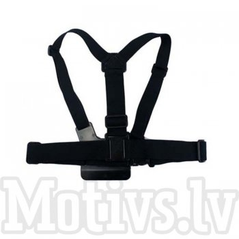 GoPro Hero 4 / 3+/ 3 / 2 / 1 Elastic Body Chest Mount Harness Straps